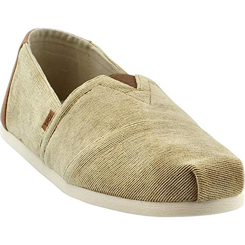 TOMS Men's Venice Collection Alpargata Light Toffe Micro Corduroy 12 D US