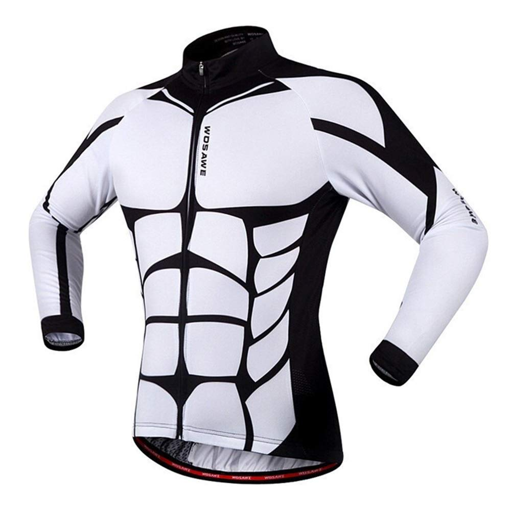GAOZHIQUAN CO Mountain Bike Riding Suit Breathable and Quick-Drying Riding Long-Sleeved Shirt