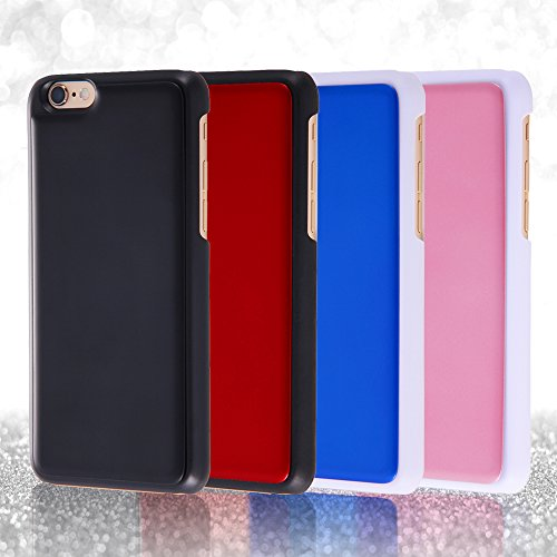Special IC Card Type Shell Jacket for iPhone 6 (White x Pale Pink)