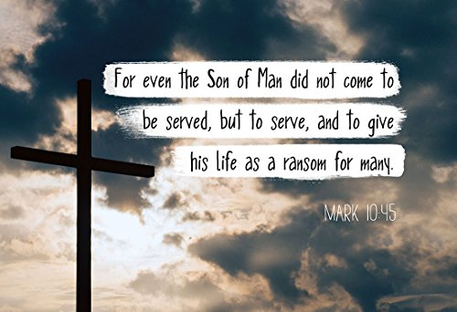 mark-1045-for-even-the-son-of-man-christian-poster-print-picture-or-framed-wall-art-decor-bible-vers