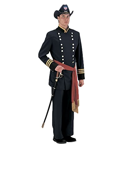 Victorian Men's Costumes: Mad Hatter, Rhet Butler, Willy Wonka Deluxe Civil War Union Officer Theatrical Quality Costume $259.99 AT vintagedancer.com