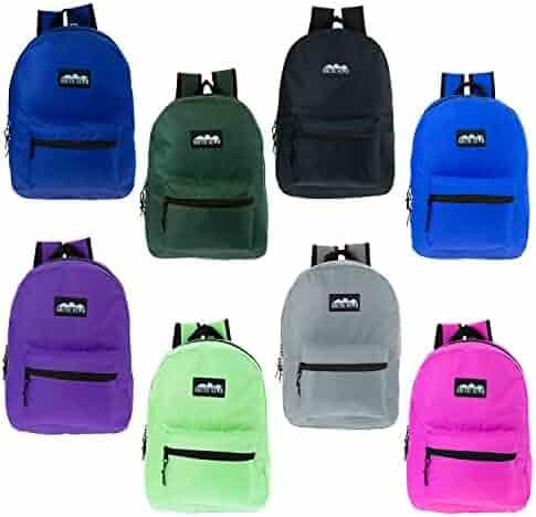 0cca9dbb7f91 ... Classic Backpack in 8 Solid Colors - Bulk Case of 24 Bookbags. seller   Wholesale Backpack. (0). Hello kitty Kids Rucksack Backpack M children milk  cake