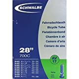SCHWALBE AV17 Bicycle Inner Tube with Schrader Valve ~~28 inch 37622 MM (28 x 1 3/8 x 1 5/8 inches) (28 x 1.4 inches) by Schwalbe