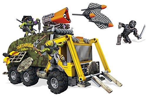 Mega Bloks Teenage Mutant Ninja Turtles Battle Truck Construction - Seat 6 Turtle Bus