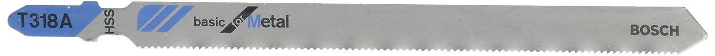 Bosch 2608631013 5 Lames de scie sauteuse pour le m/étal T 118 A
