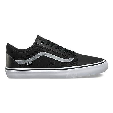 cdafd1fc0dd8ee Vans Old Skool Rapidweld DX Black   Reflective Silver Skateboarding Shoes (9  B(M