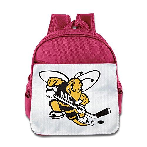 Ice Hockey Yellow Jacket Sports Toddler Kids Shoulder School Bag - City Macy's Kansas