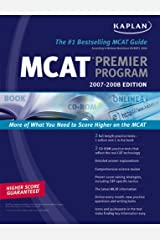 Kaplan Mcat Premier Program 2007-2008 (Kaplan MCAT Premier Program (W/CD)) Paperback