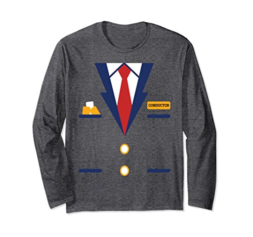 Train Conductor Engineer Locomotive Long Sleeve T-Shirt