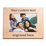 "Create Your Own Personalized Picture Frame (5"" x 7"" Landscape)"