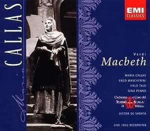Verdi: Macbeth with Maria Callas, Enzo Mascherini, Victor de Sabata, Orchestra & Chorus of La Scala, Milan by Maria Callas : Maria Callas, Enzo Mascherini: Amazon.es: Música