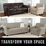 Home Fashion Designs Printed Twill Sofa