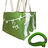 Grocery Grip Bag Carrier With Bonus 2 Reusable Grocery Bags To Pair With Handle Holder. From Duni Sack Monkey Bags