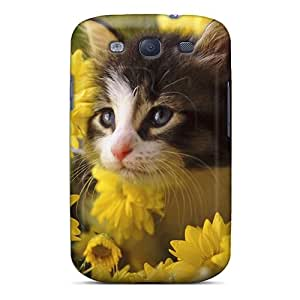 Pretty Dvm6810qOnt Galaxy S3 Cases Covers/ A Special Kitten For Yellowforever Series High Quality Cases