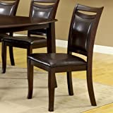 247SHOPATHOME IDF-3024SC Dining-Chairs, Brown