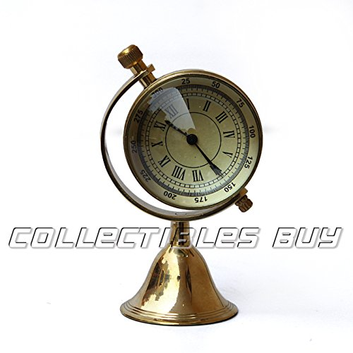 Nautical Office Table Clock Victoria London 1876 Mini Brass Watch Collection