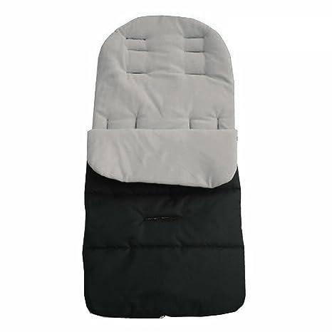 Universal para Carrito de bebé, Woopower impermeable cochecito BUGGY – Saco de lujo con forro polar saco de dormir Grey Lined ...