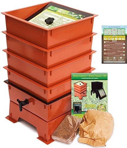 The Squirm Firm Worm Factory Ds4tt 4-tray Worm Composting...