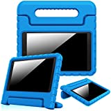 Fintie Case for Fire HD 10 (5th Generation, 2015 Release), [Kids Friendly] Shock Proof Light Weight Convertible Handle Stand Cover for Fire HD 10.1 Inch Tablet - Blue