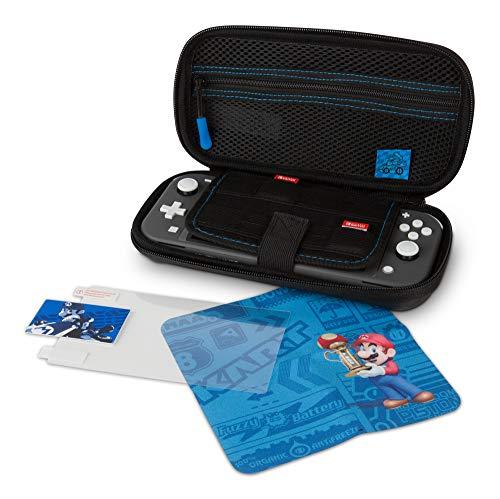 PowerA - Kit de estuche protector Lite Mario Kart (Nintendo Switch Lite)