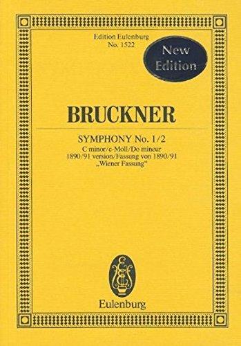 Symphony No. 1/2 in C minor (1890/91 version Weiner Fassung) (Edition Eulenburg) (Tapa Blanda)