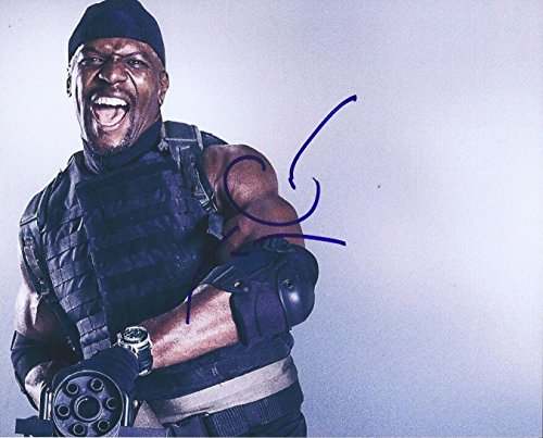 TERRY CREWS SIGNED AUTOGRAPHED 8X10 PHOTO EXPENDABLES, used for sale  Delivered anywhere in USA