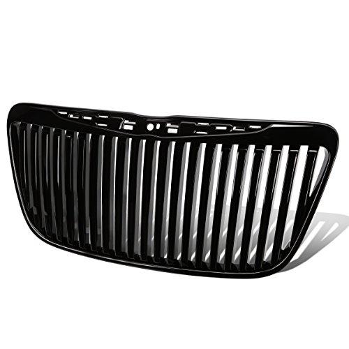 Chrysler 300/300C ABS Plastic Vertical Style Front Bumper Grille (Black) - 2nd (Chrysler Vertical Doors)