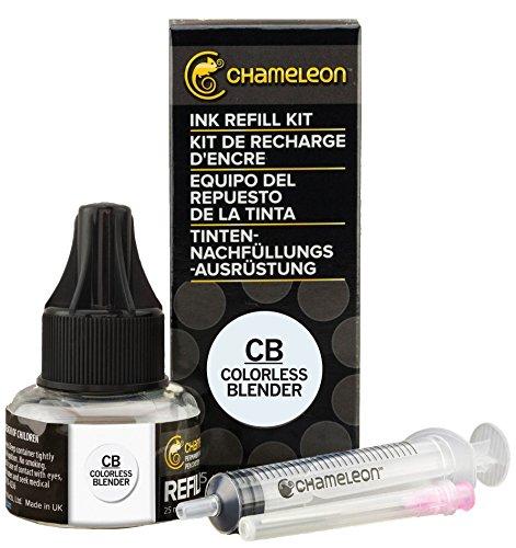 Refillable Pen Blender (Chameleon Art Products, Ink Refill 25ml, Colorless Blender)