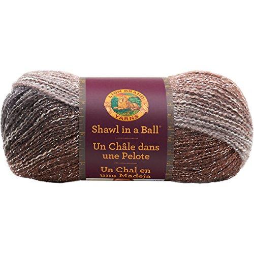 Lion Brand Yarn LionBrand 828-307 Shawl in a Ball,Cleansing Quartz,