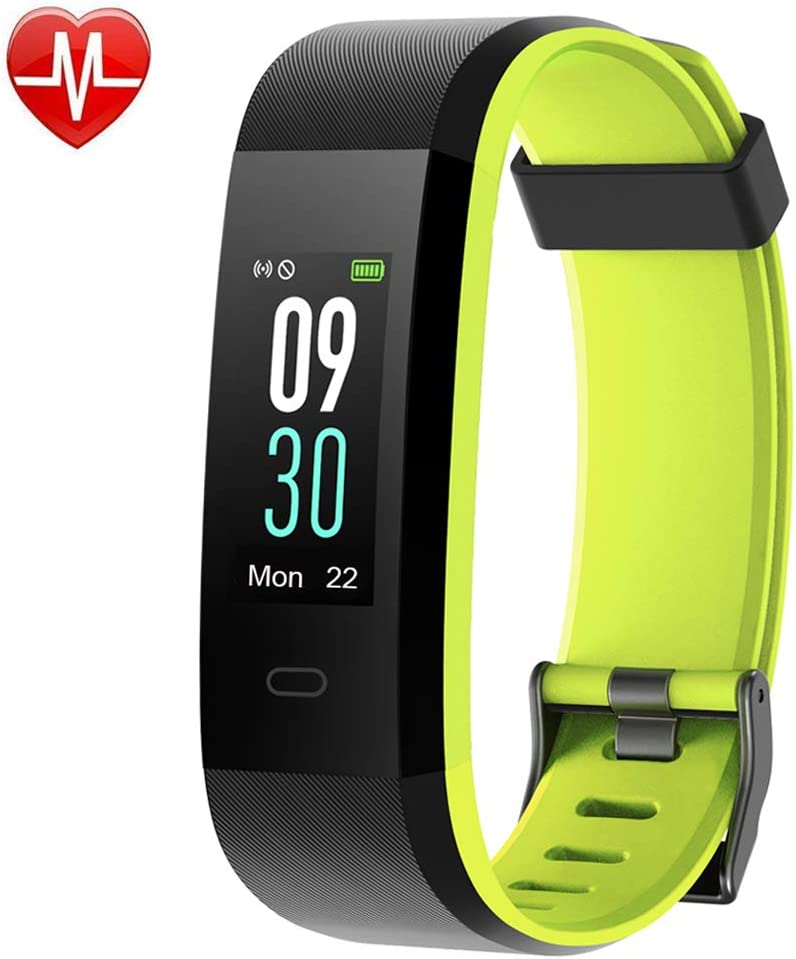 YAMAY Fitness Tracker, Heart Rate Monitor Watch Fitness Watch Activity Tracker