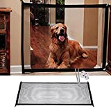 Schnappy Magic Gate Portable Folding Safe Guard Install Anywhere,Pet Dog Safety Enclosure for Home
