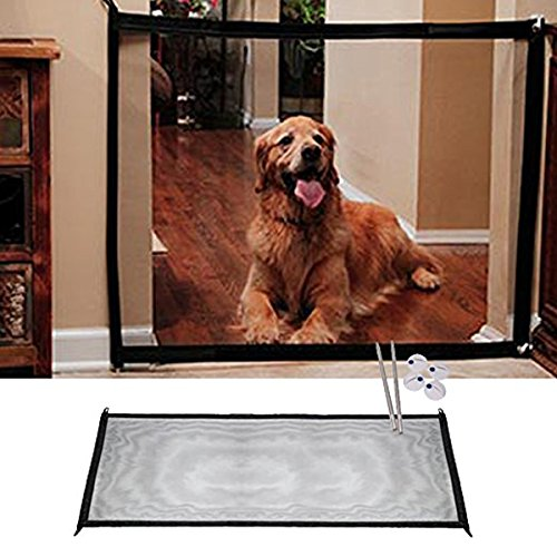 Schnappy Magic Gate Portable Folding Safe Guard Install Anywhere,Pet Dog Safety Enclosure for Home by Schnappy