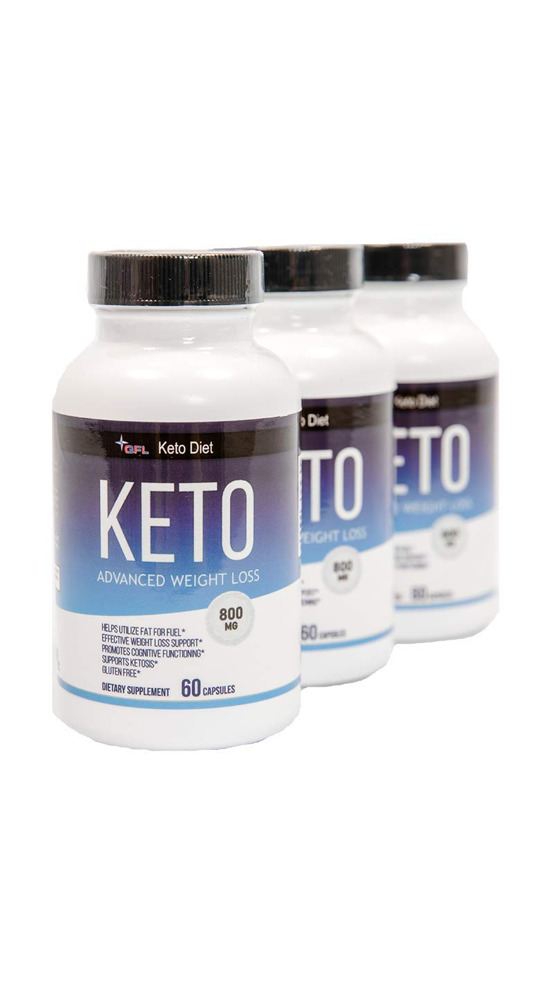 BHB Exogenous Ketones (800mg | 180 Capsules) Keto Diet Pills BHB Salts - Beta Hydroxybutyrate Keto Supplement for Energy, Focus and Performance-uses Fat for Fuel-NMI (3)