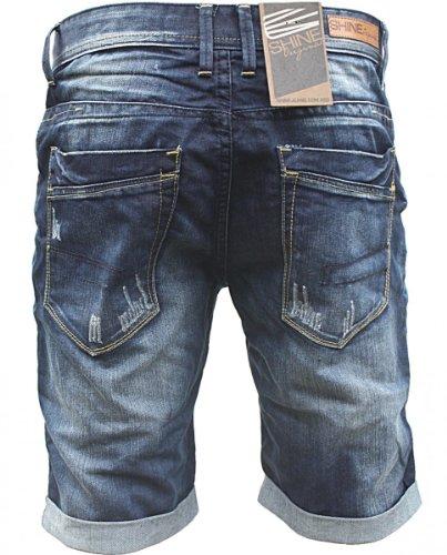 Pantalón Azul para hombre corto Shine dIwqPOd