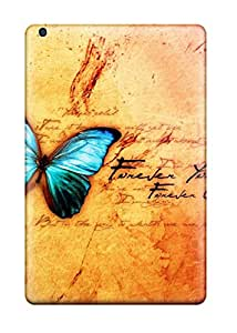 Awesome IHs2989qpvj ErissionHerdezan Defender Tpu Hard Cases Covers For Ipad Mini- Vintage Butterfly