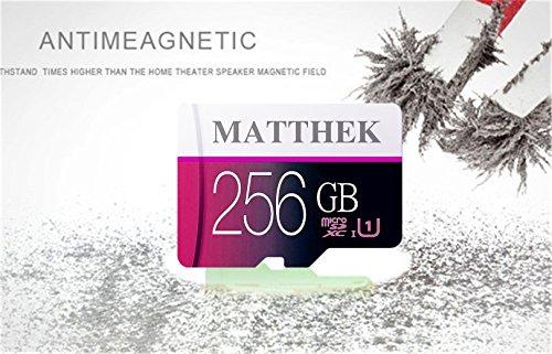 Matthek 256GB Micro SD SDXC Memory Card High Speed Class 10 With Micro SD Adapter(M239-U5) by Matthek (Image #4)