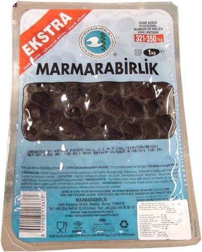 Marmarabirlik Oil Cured Olives (Turkish) 800 g. pkg SUPER