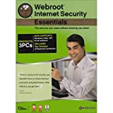 Webroot Internet Security Essentials - 3 User   (Bilingual)