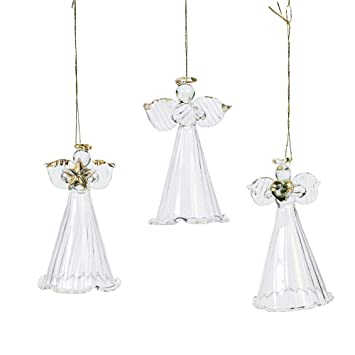 Fun Express One Dozen Spun Glass Angel Ornaments/Christmas Tree Ornaments - Amazon.com: Fun Express One Dozen Spun Glass Angel Ornaments