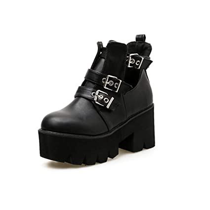 Martin Eeayyygch Alto Mujer Zapatos Stiletto Tacón Botas Puntiagudo WYzrvqY