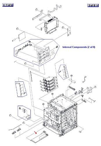 - HP Color LaserJet CP4005, CM4730 Low Voltage Power Supply - OEM - OEM# RK2-0627-000CN - Also for CM4