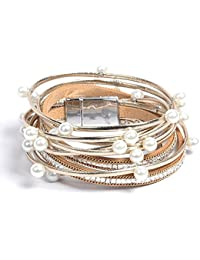 shinning wrap clasp bangle for women