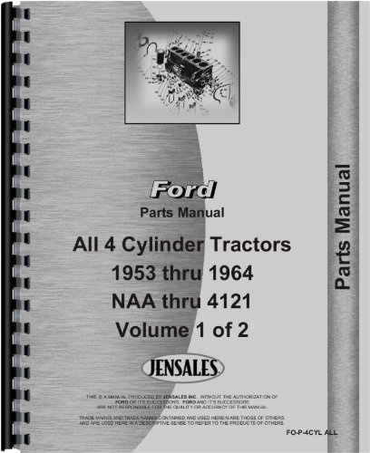 Ford 621 Tractor Parts Manual pdf