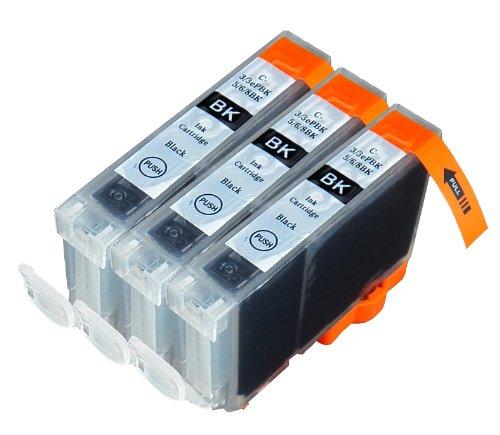 3 Pack Compatible Canon CLI 8 , CLI-8 , CLI8 3 Small Blac...