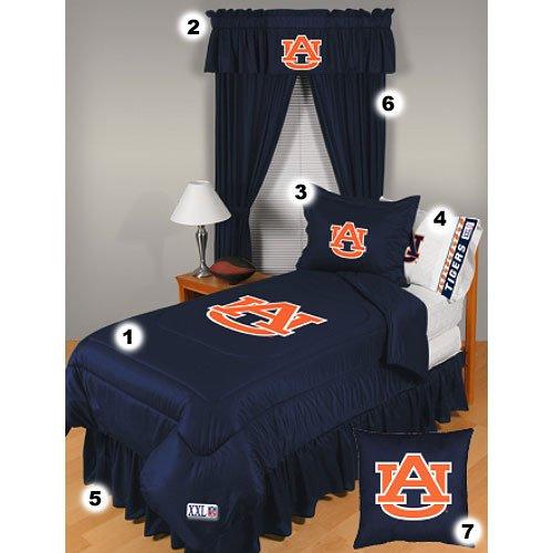 Auburn Tigers Queen Size Locker Room Bedroom Set