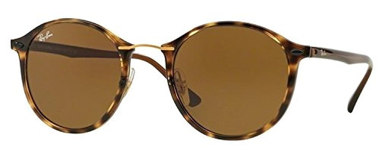 3f2aa13ff Amazon.com: Ray-Ban Tech Light Ray RB 4242 Sunglasses Black / Grey Green  49mm & HDO Cleaning Carekit Bundle: Clothing