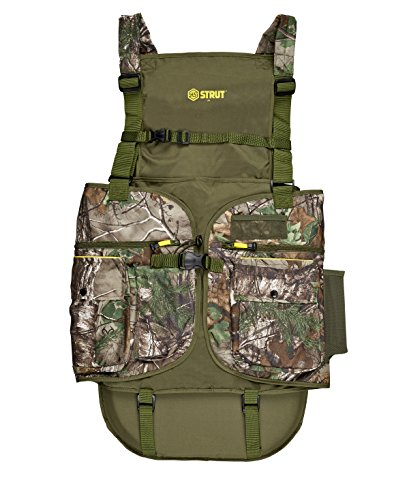 Hunters Specialties H.S. Strut Turkey Vest, Realtree Xtra Green, Large/X-Large