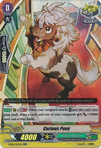 Amazon.com: ¡Pelea de cartas! Vanguard Curious Pony V-SS01 ...
