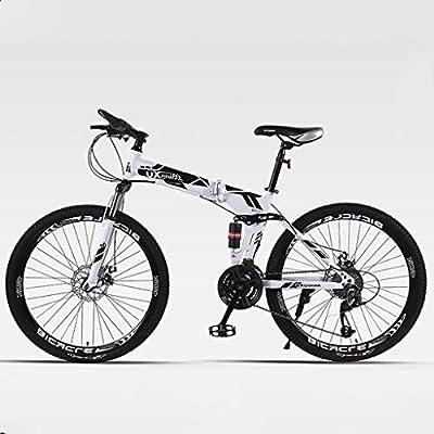 Choque Montaña De La Velocidad De La Bicicleta De La Bicicleta Plegable Doble Freno De 24/