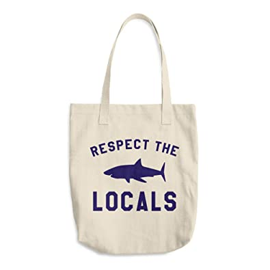 Amazon com: Respect The Locals Canvas Produce Bag Reusable